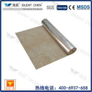Acoustic Rubber Underlayment with Gold Film pictures & photos