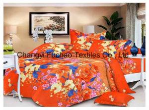 Queen Size Poly/Cotton Material Bedding Set Manufacture Wholesale Disposable pictures & photos