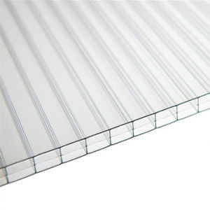 Best Crystal Plastic Polycarbonate Hollow Sheet for Roofing