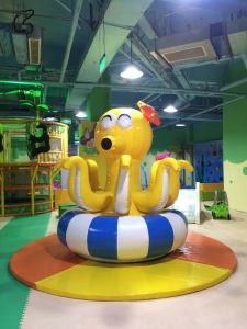 Hit Giant Rotatory Inflatable Octopus for Indoor Amusement Playground pictures & photos
