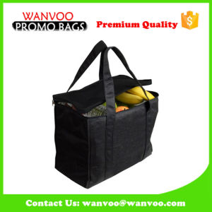 Big Volume Non Woven Travel Picnic Lunch Bag with Aluminium Foil for Insulated Funtion pictures & photos