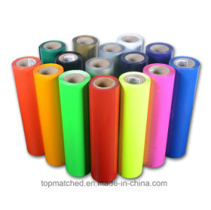 Best Selling Super Quality PU Heat Transfer Film Neon for Clothing pictures & photos