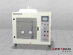 Horizontal/ Vertical Flame Chamber with Touch Screen, UL 94 pictures & photos