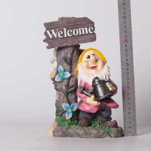 Dwarfs Happy Figurine Happy Statue Home and Garden Decor pictures & photos