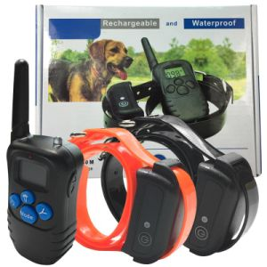 Waterproof Dog Shock Collars Pet Dog Trainer Remote Dog Training E-Collar Beep/Vibration/Shock Electric Dog Training Collar pictures & photos