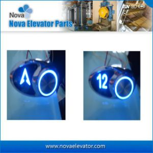 High Quality Flat Character Elevator Push Button pictures & photos