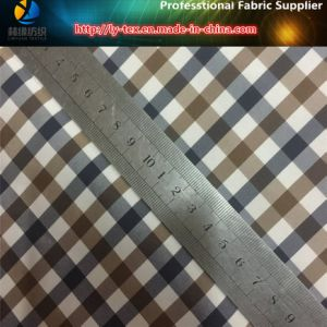 Polyester Yarn Dyed Fabric, Popular Polyester Down Jacket Fabric (YD1172) pictures & photos
