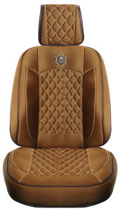 Car Seat Cover 3D Universal Shape with Viscose Fabric Beige pictures & photos