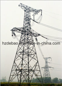 Customed Power Transmission Steel Tubular Tower pictures & photos