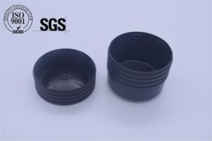 Plastic Double Color Flip Top Cap for Cosmetic Packaging pictures & photos