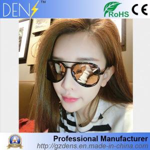 UV400 Sunglass Polarized Glasses Metal Cat Eyes Sunglasses pictures & photos