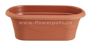 Oval Plastic Flower Pot (KD7401-KD7402) pictures & photos