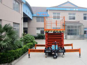 300kg 16m Hydraulic Electric Scissor Lift (SJZ0.3-16) pictures & photos