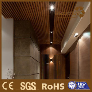 Fire Tested Wood Plastic Composite Suspended Wood Ceiling pictures & photos