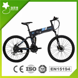 26inch Folding Hidden Battery Electric Bicycle (RSEB-106) pictures & photos
