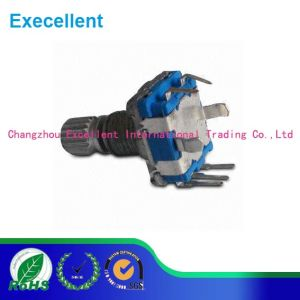 11mm Rotary Encoder with Push-on Switch SMT Type pictures & photos