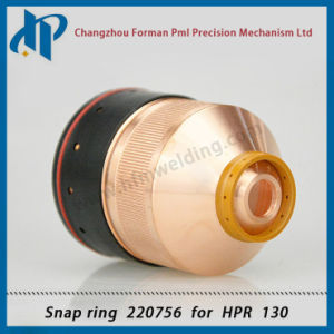 Retaining Cap 220756 for Hpr130 Plasma Cutting Torch Consumables pictures & photos
