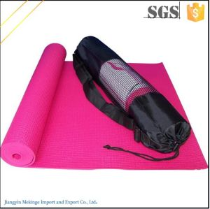 Smooth PVC Yoga Mat 6mm/8mm Custom Label for Beginner pictures & photos
