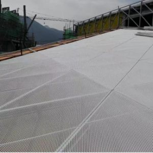 Aluminum Triangle Sytle Mesh Panel for Exterior Decoration pictures & photos