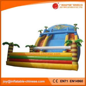 New Design Happy Tree Inflatable Jumping Bouncy Slide (T4-103) pictures & photos