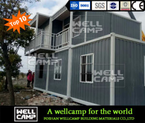Wellcamp Economic Fast Build Detachable Container House pictures & photos