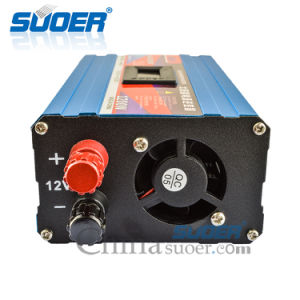 Suoer 12V 220V 1200W DC to AC Power Inverter with Anti Reserve Connection (SAA-D1200AF) pictures & photos