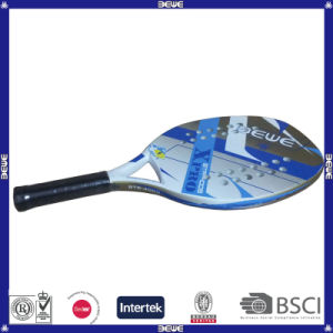 Carbon Composite Beach Tennis Racket Wirh Rubber EVA pictures & photos