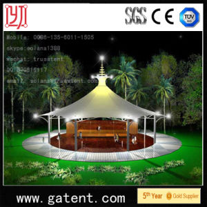 Q235 Steel Structure PVDF Cover Pemanent Circular Tent pictures & photos