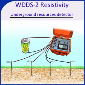 Wdds-2 Water Detector, Resistivity Meter Water Finder Underground Resources Detector pictures & photos