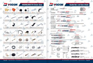 Chain Saw Spare Parts/ Cylinder Assembly/Carburetor/Starter/Clutch/Guide Bar/Chain pictures & photos