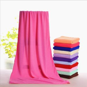 Micorfiber Bath Towels 70X140cm 210g Superior Water Absorption pictures & photos
