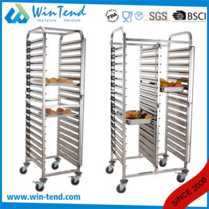 Hot Sale Manufactory Professional 16 Tiers Rotary Oven Trolley with Wheels pictures & photos