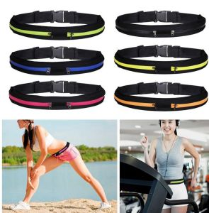 Sports Dual Bag Runner Waist Belt for Jogging Cycling Waist Pouch Pocket Adjustable pictures & photos