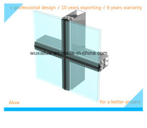 Envrimental Protection Invisble Curtain Wall pictures & photos