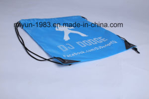 Customized 210d Polyester Drawstring Backpack Shopping Bag M. Y. D-036 pictures & photos