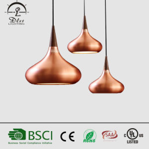 2017 Modern Copper Aluminum Pendant Lamps for Coffee Shop Lighting pictures & photos