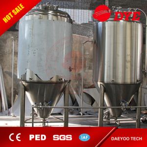Beer Fermenter Stainless Steel Conical Jacketed Fermentation Tank pictures & photos