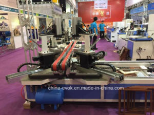 CNC High Frequency Photo Frame Nailing Assembling Machine Tc-868SD-190 pictures & photos