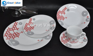 20PCS Porcelain Plate for Hotel and Restaurant Wholesale pictures & photos