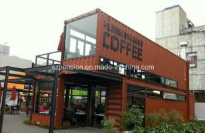 Peison Low Cost Prefabricated/Prefab Mobile Coffee Bar/House/Room pictures & photos