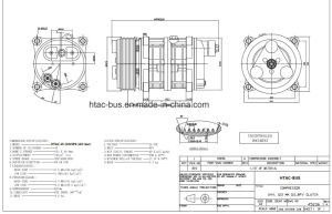 Heavy Duty A/C Valeo TM15 Compressor R134A pictures & photos