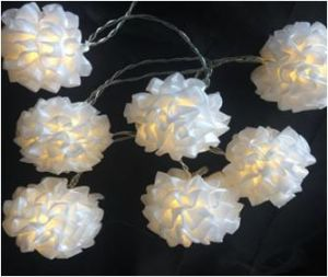 LED Lace/Flower Ball with 2AA Battery Box pictures & photos