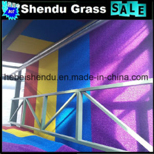 30mm Popular Yellow Artificial Turf Grass on Sales pictures & photos