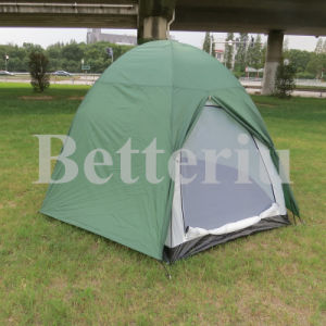 Double Layer Camping Tent for 3 Person Sexangle Tent pictures & photos