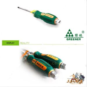 High Quality Professional Go-Through Handle Screwdriver pictures & photos