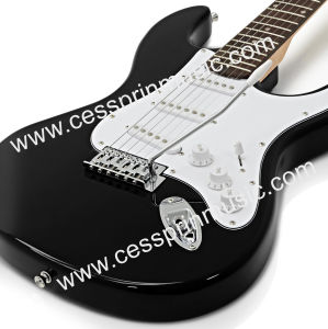 Hot Sell /Electric Guitar/ Lp Guitar /Guitar Supplier/ Manufacturer/Cessprin Music (ST601) Black pictures & photos