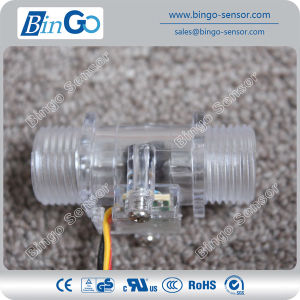 1/2′′ Crystal Water Flow Sensors, Hall Water Flow Sensor for Gas Water Heater pictures & photos