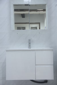 Australian Style Wall Hung MDF Wood Bathroom Cabinet pictures & photos