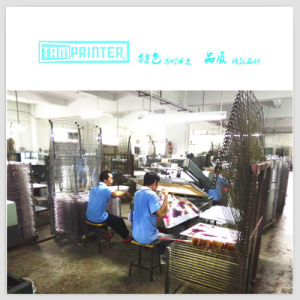 Tmp-6090 Oblique Arm Type Semi Automatic Screen Printer Silk Screen Printing pictures & photos
