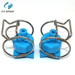 Double Clamp Grey Colour Clip-Eyelet Nozzle pictures & photos